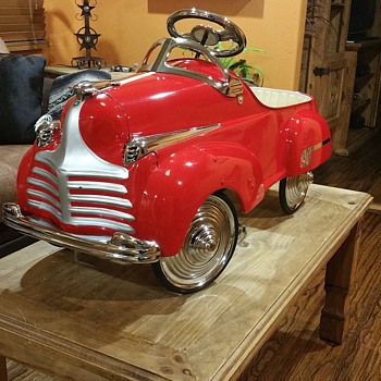 41 STEELCRAFT CHRYSLER PEDAL CAR