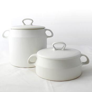 Stoneware casseroles, André Ricard (cerámicas Montgatina, 1967)