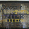 racers bakery sign