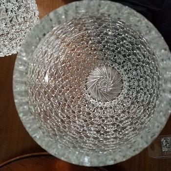 Massive crystal vases - Glassware