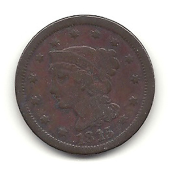1815 Large Cent - US Coins
