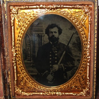 Ambrotype Naval Officer - Photographs