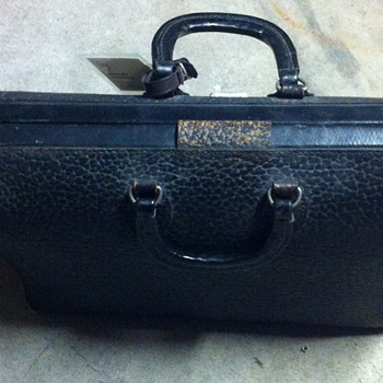 Old leather bag. - Bags