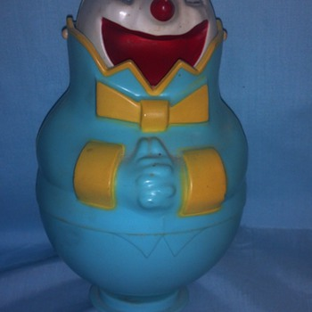 1964  Clown Bank - Coin Operated