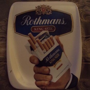 Rothmans Tip Tray ???? - Advertising
