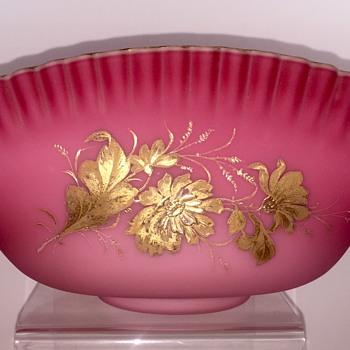 Victorian Era Loetz Console Bowl, DEK II/5, ca. 1890s - Art Glass