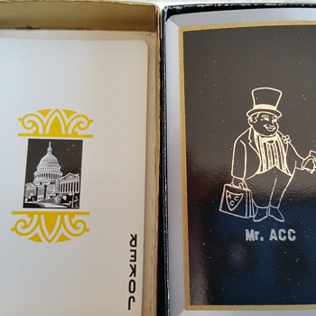 mr acc playing cards. any ideas on what these are?