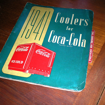 1941 Coolers For Coca-Cola Book - Coca-Cola