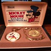 Railroad Collector Series Mickey Mouse Pocket Watch