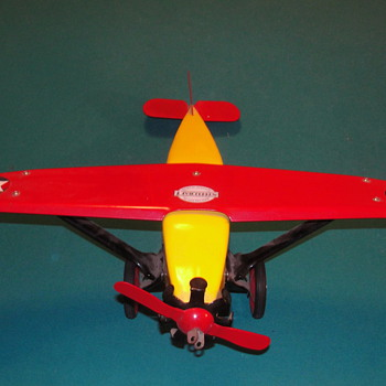 Brass Tag Toys (Steel Craft) Toy Plane #0080