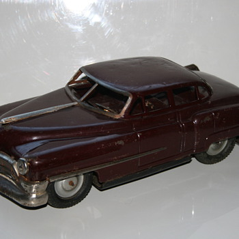 Nomura fat cadillac tin car - Model Cars