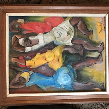Beautiful Haitian Oil Painting.  - Visual Art