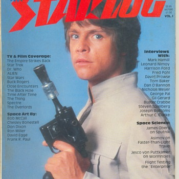 STARLOG Magazine 1982 Vol.1, Vol.2 & Vol.3