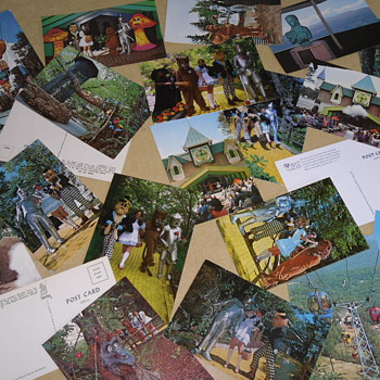 Land of Oz postcards