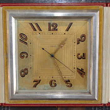 cartier clocks