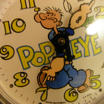 Popeye Wristwatch - Wristwatches