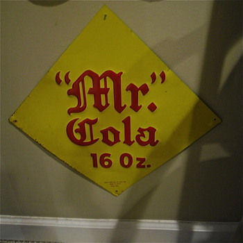 Mr. Cola Sign - Advertising