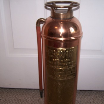 Essany Copper & Brass Fire Extinguisher - Firefighting
