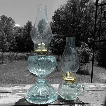 Antique Oil Lamps - Lamps