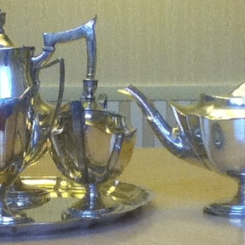 Gorham Silver Tea Set - Sterling Silver