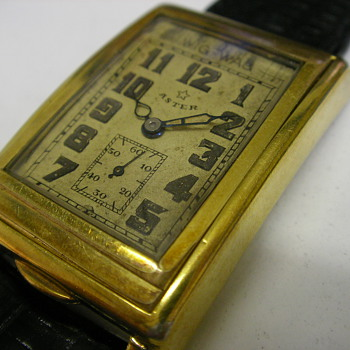 The Aster Wig Wag Automatic Wristwatch - Wristwatches