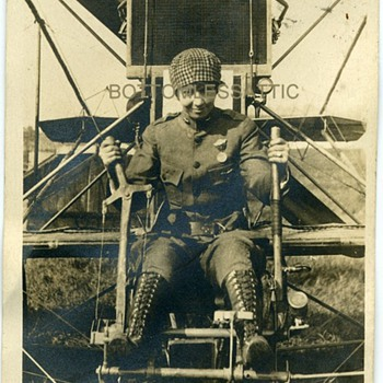 RUTH LAW AVIATRIX SIGNATURE RP POSTCARD