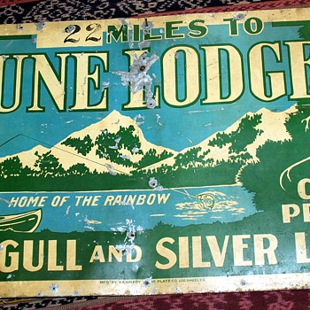 This is probably the best sign i've ever owned. June Lodge...