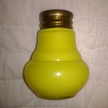 Yellow Cased Shakers - Kitchen