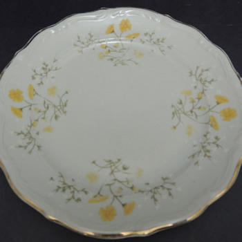 Springtime Plate: Walbrzych Made in Poland