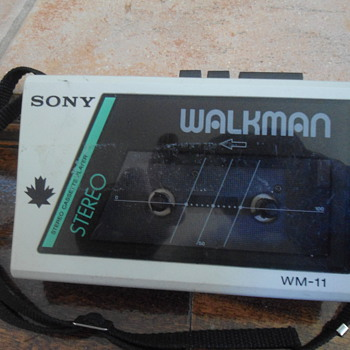 1980's Sony Walkman Canadian Edition