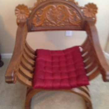 Vintage Chinese X Chairs - Furniture