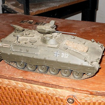 German Marder Infantry Fighting Vehicle Model