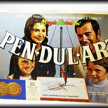 1970's Toy -- PEN DUL ART ===> Mine - Toys