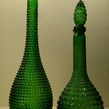 Empoli Decanter & Bottle