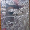 Asian art metal wafer tablet ingot needs deciphering