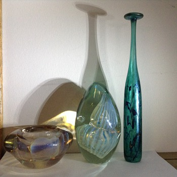 Triple play  - Art Glass
