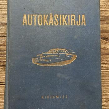 Autokaskirja Kirjamies car book. - Books