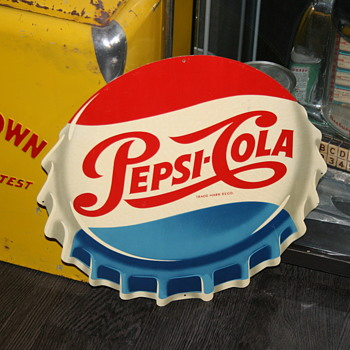pepsi sign - Advertising