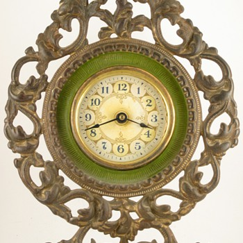"""The Champion"" Clock by Western Clock Mfg. Co, 1904 - Clocks"