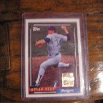 Topps 1992 Nolan Ryan - Baseball