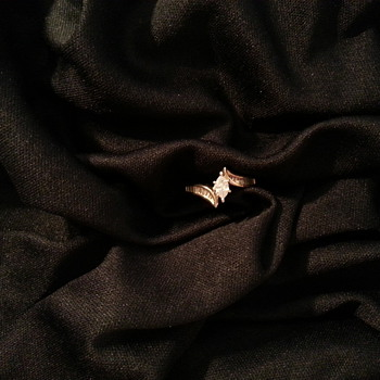 The Almost Vintage Engagement Ring :^)