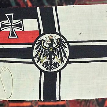 WW1 Imperial German Battle flag original NOT nazi  - Military and Wartime