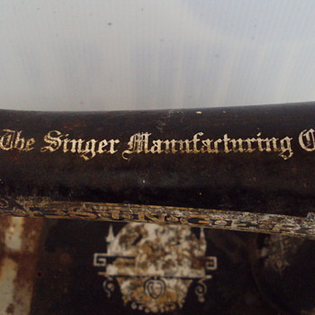 1906 Singer Sewing Machine - Sewing