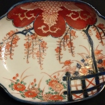 oriental shallow dish