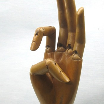 Max Mayer's Glove Hand Display - Advertising