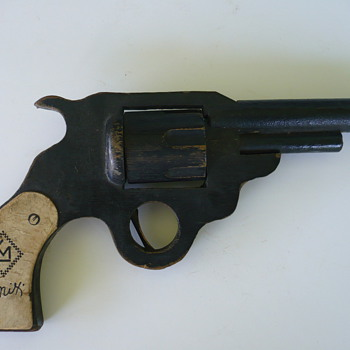Tom Mix Wooden Pistol