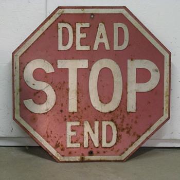 Stop - Dead End