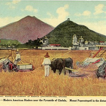 Farming around the World - Postcards