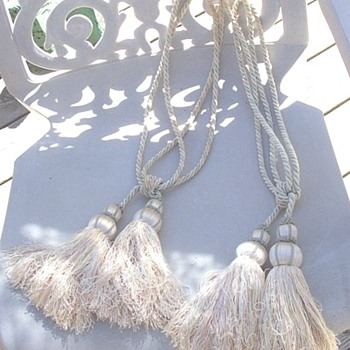 Antique tassels?