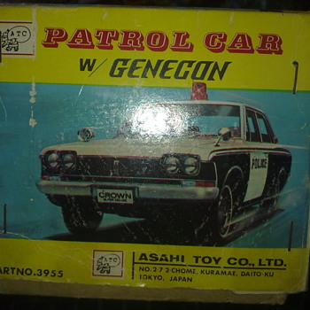Patrol car w/genecon from ATC by Asahi Toy Com - Model Cars